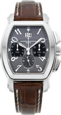 Timepieces:Wristwatch, Vacheron Constantin Stainless Steel Royal Eagle AutomaticChronograph Ref. 49145. ...