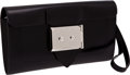 Luxury Accessories:Accessories, Hermes Black Box Leather Goodlock Clutch Wristlet. ...
