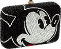 Luxury Accessories:Bags, Kathrine Baumann Full Bead Mickey Mouse Minaudiere Evening Bag,#38/2500. ...