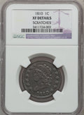 Large Cents: , 1810 1C --Scratched-- NGC Details. XF. NGC Census: (5/35). PCGSPopulation (13/45). Mintage: 1,458,500. Numismedia Wsl. Pric...