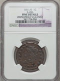 Large Cents: , 1811/0 1C --Improperly Cleaned-- NGC Details. Fine. S-286. NGCCensus: (1/14). PCGS Population (2/18). Mintage: 218,025. Nu...