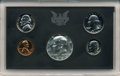 Proof Roosevelt Dimes, 1970 No S Proof Dime in a Cased Set.... (Total: 5 coins)