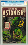 Silver Age (1956-1969):Superhero, Tales to Astonish #27 (Marvel, 1962) CGC FN+ 6.5 Cream to off-whitepages....