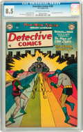 Detective Comics #184 (DC, 1952) CGC VF+ 8.5 Off-white to white pages