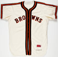 Baseball Collectibles:Uniforms, 1964 Roy Sievers Old Timers Day Game Worn St. Louis Browns Uniform....