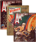 Pulps:Science Fiction, Amazing Stories and Others Pulp Group (Ziff-Davis, 1928-53)Condition: Average GD.... (Total: 13 Items)