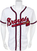 Autographs:Jerseys, 1980's-2000's 500 Home Run Club Jersey Signed by Eighteen....