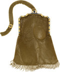 Estate Jewelry:Purses, Art Deco Diamond, Sapphire, Seed Pearl, Platinum, Gold Mesh Purse....
