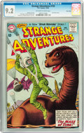 Silver Age (1956-1969):Adventure, Strange Adventures #159 Twin Cities pedigree (DC, 1963) CGC NM- 9.2 Off-white to white pages....