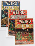 Golden Age (1938-1955):Science Fiction, Weird Science Group (EC, 1951-53) Condition: Average GD.... (Total: 14 Comic Books)