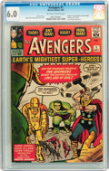 Silver Age (1956-1969):Superhero, The Avengers #1 (Marvel, 1963) CGC FN 6.0 Off-white to white pages....