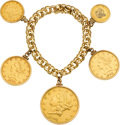 Estate Jewelry:Bracelets, US Gold Coin, Gold Bracelet. ...