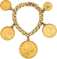 US Gold Coin, Gold Bracelet