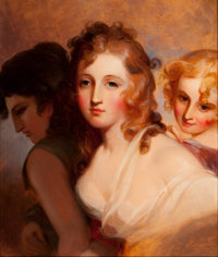 THOMAS SULLY (American, 1783-1872) The Hours, 1850 Oil on canvas 24 x 20 inches (61.0 x 50.8 cm)