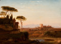 Fine Art - Painting, American:Other , PROPERTY FROM A PRIVATE TEXAS COLLECTION. HUDSON RIVER SCHOOL (19thCentury). Cecilia Metello's Tomb. Oil on canvas . ...