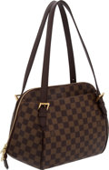 Luxury Accessories:Bags, Louis Vuitton Damier Canvas Large Bowling Bag. ...