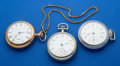 Timepieces:Pocket (post 1900), Three 18 Size Pocket Watches Runners. ... (Total: 3 Items)