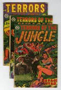 Golden Age (1938-1955):Horror, Terrors of the Jungle Group (Star Publications, 1953).... (Total: 5)