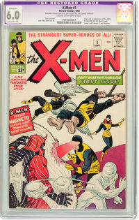 X-Men #1 (Marvel, 1963) CGC Apparent FN 6.0 Extensive (P) Cream to off-white pages