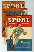 Golden Age (1938-1955):Non-Fiction, True Sport Picture Stories Group (Street & Smith, 1942-49)....(Total: 12 Comic Books)