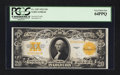 Large Size:Gold Certificates, Fr. 1187 $20 1922 Gold Certificate PCGS Very Choice New 64PPQ.. ...