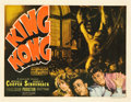 "Movie Posters:Horror, King Kong (RKO, R-1938). Title Lobby Card (11"" X 14"").. ..."