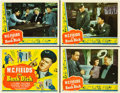 "Movie Posters:Comedy, The Bank Dick (Universal, 1940). Title Lobby Card and Lobby Cards (3) (11"" X 14"").. ... (Total: 4 Items)"