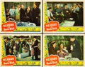 "Movie Posters:Comedy, The Bank Dick (Universal, 1940). Lobby Cards (4) (11"" X 14"").. ...(Total: 4 Items)"