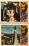 """Movie Posters:Horror, King Kong (RKO, R-1938). Lobby Cards (2) (11"""" X 14"""").. ... (Total:2 Items)"""