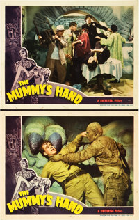 """The Mummy's Hand (Universal, 1940). Lobby Cards (2) (11"""" X 14""""). ... (Total: 2 Items)"""