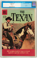 Silver Age (1956-1969):Humor, Four Color #1027 The Texan (Dell, 1960) CGC NM- 9.2 Off-white pages....