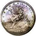 Patterns: , 1875 20C Twenty Cents, Judd-1399, Pollock-1542, Low R.6, PR65 NGC. From the popular Liberty at the Seashore series. On this...