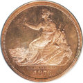 1876 $1 Commercial Dollar, Judd-1473, Pollock-1624, R.7, PR64 Red PCGS. Ex: Bass. An extremely rare entry into the Liber...