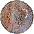 Patterns: , 1878 $1 Morgan Dollar, Judd-1551, Pollock-1724, 1726, 1728, R.7,PR65 Red and Brown PCGS. Ex:...