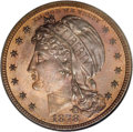 1878 $10 Liberty Head Eagle, Judd-1580, Pollock-1773, Low R.7, PR66 Red and Brown NGC. A cap inscribed LIBERTY adorns th...