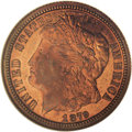 1879 10C Morgan's Liberty Head Dime, Judd-1587, Pollock-1780, High R.6, PR66 Red NGC. Morgan's Liberty Head serves the o...
