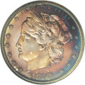 Patterns: , 1879 50C Washlady Half Dollar, Judd-1597, Pollock-1791, High R.6,PR66 NGC. Ex: Genaitis. The Washlady Design with the reve...