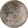 Patterns: , 1879 $1 Morgan's Liberty Head Silver Dollar, Judd-1612,Pollock-1808, Low R.7, PR65 Red and Brown NGC. This is thefamiliar...