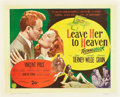 "Movie Posters:Film Noir, Leave Her to Heaven (20th Century Fox, 1945). British Half Sheet(22"" X 28"").. ..."