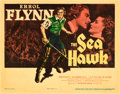 "Movie Posters:Swashbuckler, The Sea Hawk (Warner Brothers, 1940). Title Lobby Card (11"" X14"").. ..."