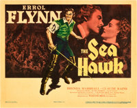 "The Sea Hawk (Warner Brothers, 1940). Title Lobby Card (11"" X 14"")"