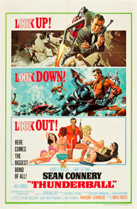 "Thunderball (United Artists, 1965). One Sheet (27"" X 41"")"
