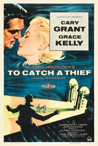 "To Catch a Thief (Paramount, 1955). One Sheet (27"" X 41"")"