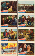 "Movie Posters:Western, Red River (United Artists, 1948). Lobby Card Set of 8 (11"" X 14"")..... (Total: 8 Items)"