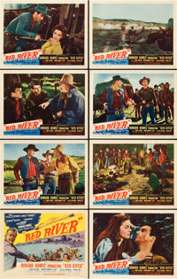 "Red River (United Artists, 1948). Lobby Card Set of 8 (11"" X 14""). ... (Total: 8 Items)"