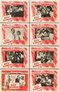 "Movie Posters:Film Noir, Key Largo (Warner Brothers, 1948). Lobby Card Set of 8 (11"" X14"").. ... (Total: 8 Items)"