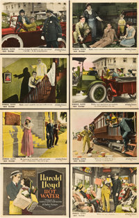 """Hot Water (Pathé, 1924). Lobby Card Set of 8 (11"""" X 14""""). ... (Total: 8 Items)"""