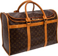 Luxury Accessories:Travel/Trunks, Louis Vuitton Classic Monogram Roadster Overnight Weekend Bag. ...