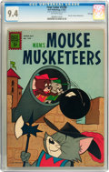Silver Age (1956-1969):Cartoon Character, Four Color #1290 M.G.M.'s Mouse Musketeers - File Copy (Dell, 1962)CGC NM 9.4 Off-white pages....