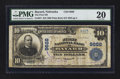 National Bank Notes:Nebraska, Bayard, NE - $10 1902 Plain Back Fr. 627 The First NB Ch. # 9666. ...